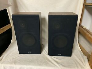JVC PAIR OF HIFI SPEAKERS - MODEL S-40 WE - VINTAGE