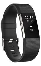 Fitbit Charge 2 Heart Rate & Fitness Wristband - Black