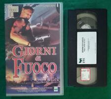 VHS FILM Ita Azione GIORNI DI FUOCO dolph lundgren CVC ex nolo no dvd(V124)