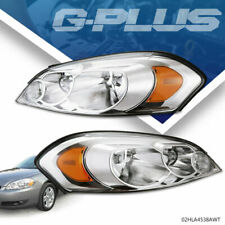 Pair Clear Lens Headlights Lr Fit For 06 13 Chevy Impala2006 2007 Monte Carlo Fits 2006 Impala