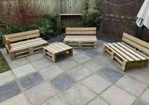 Garden Pallet Furniture Set