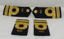 Greek Navy Vintage Shoulder Boards & Slide Epaulettes Rank Sub-Lieutenant