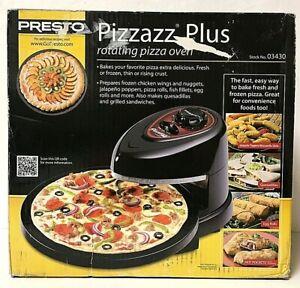 Presto Pizzazz Plus Rotating Pizza Oven 03430