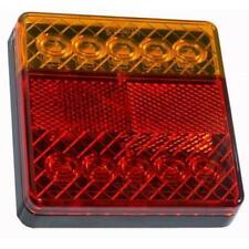 Phare Arrière Plat 12 V 10 LED Pour Remorque Tracteur Approuvé