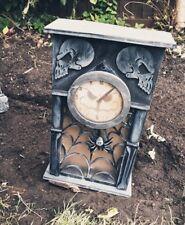 Entrada De Pared Reloj EMBRUJADA ANIMADA Decoración de Halloween Utilería Luz de ruido sonido
