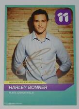 GENUINE HANDSIGNED HARLEY BONNER 'JOSHUA WILLIS' NEIGHBOURS FANCARD