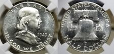 1949 S Franklin Half Dollar 50c NGC MS 64 PL CAC - RARE Proof Like !!