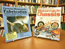 Two Book Set Advanced Custom Motorcycle Chassis and Custom Fabrication Remus
