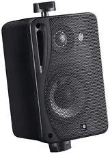 "E-Audio schwarz 3"" 3 Wege Mini Lautsprecher 4 Ohm 80 W ABS Paar 03-B416B"