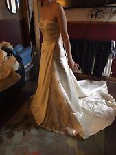 maggie sottero ivory wedding dress size us 6/uk 8