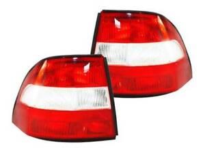 Tail Lights Holden Vectra  JR & JS Ser1 97-99 Sedan & Hatch LH+RH Pair Of Lamps