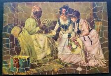 Vintage Wooden Jigsaw Puzzle.