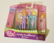 NEW Polly Pocket Fashion Trendy Townhouse Bathroom Set Lea NEW 2002