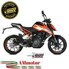 Mivv Ktm 125 Duke 2019 19 Terminale Di Scarico Moto Marmitta Mk3 Black