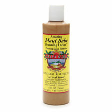 Hawaiian MAUI BABE SALON FORMULA BROWNING LOTION 8oz - For Indoor Tanning Beds