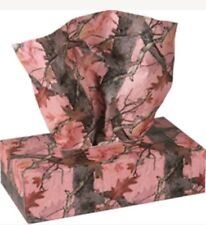 Pink Camo Box Tissue (Like Kleenex) 1 Box