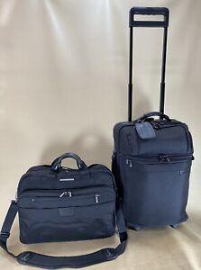 "Briggs & Riley @ Work BRW20 20"" Upright Business Suitcase & 17"" Briefcase KB402X"