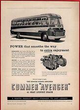 Old Magazine Advert ~ Commer Avenger - Rootes: Yeates Fiesta: Simonds: 1961