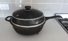 BREVILLE COUNTRY KITCHEN CP-5 CAST IRON FRYPAN, SLOW COOKER, RETRO VINTAGE