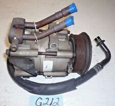 USED OEM ... 1991 FORD CROWN VICTORIA A/C COMPRESSOR with HOSE  G212