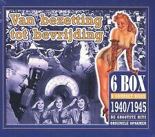 Van bezetting tot bevrijding 1940 - 1945 : Originele opnamen (6 CD)