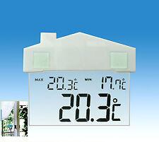 Ventana Termómetro Digital Densímetro Ventosa Indoor Outdoor Estación Meteorológica