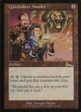 Magic the Gathering MTG 1x Quicksilver Amulet x1 Urza's Legacy LP x 1