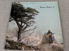 Joan Baez /5 Vinyl Record Album LP Used Music Vintage Folk Songs Acoustic