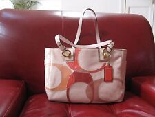 Original Coach leather handbag new without tags