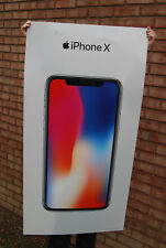 iPhone X store large window poster Apple ad banner sign display ten