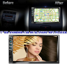 """New listing 7"""" Android Car Mp5 Player Stereo Radio Aux Usb Touch Screen Bluetooth Reversing"""