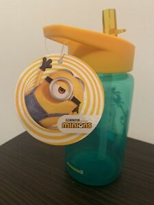 Kids Plastic Water Bottle - Minions Design - 500ml- Brand New With Tags