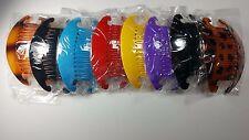 9 set Jumbo Interlocking Jaw Thick Hair Comb Banana Clip  choose color
