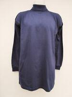Premier Man - BNWT - Mens Navy Jersey Polo Neck Top - size L