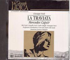Verdi: La Traviata / Molajoli, Capsir, Galeffi, Conti, Nessi - CD
