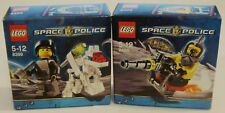 *NEW* Lego SPACE POLICE K-9BOT 8399 & SPACE SPEEDER 8400