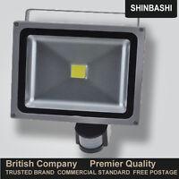 PIR Motion Sensor LED Floodlight 10W 20W 30W 50W Security Flood Light Outdoor UK