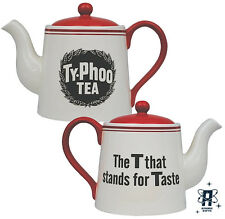 TYPHOO TEA VINTAGE STYLE CERAMIC TEA  POT THE T THAT STANDS FOR TASTE