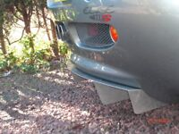 LOTUS ELISE S1 DIFFUSER - Extended in BLACK