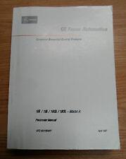 Ge Fanuc Automation Parameter Manual, Gfz-63010En/01, 16i/18i/160i/180i Model A