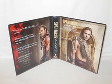 Custom Made Spartacus Gannicus Trading Card Binder Graphics Only
