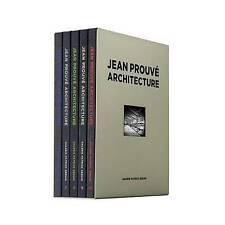 Jean Prouve Architecture: 5 Volume Box Set No. 2 (Jean Prouvé Architecture), By