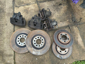 312mm Front Brake Calipers 256mm Rear Calipers TT,MK4 Golf,Beetle Upgrades