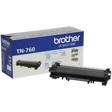 Brother Genuine TN760 High Yield Black Toner (Band New - Factory Sealed)