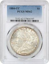 1884-CC $1 PCGS MS62 - Morgan Silver Dollar