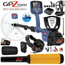 Minelab Gpz 7000 All Terrain Gold Metal Detector with Pro Find 15 Pinpointer