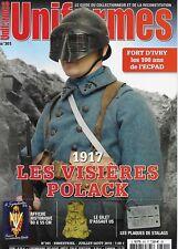 UNIFORMES N° 301 / 1917 LES VISIERES POLACK - LES PLAQUES DE STALAG