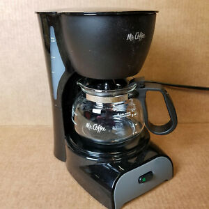 Mr. Coffee DR5-NP Simple Brew 4 Cup Black - Switch Coffee Maker