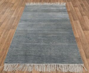 5x7 Rug Wool & Silk Rug Handmade Rug Free Shipping!!!.....#4461