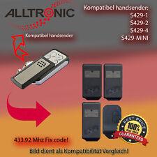 Handsender für ALLTRONIK Garagentorantriebe 433,92 MHz S429-2,S429-4 Funksender